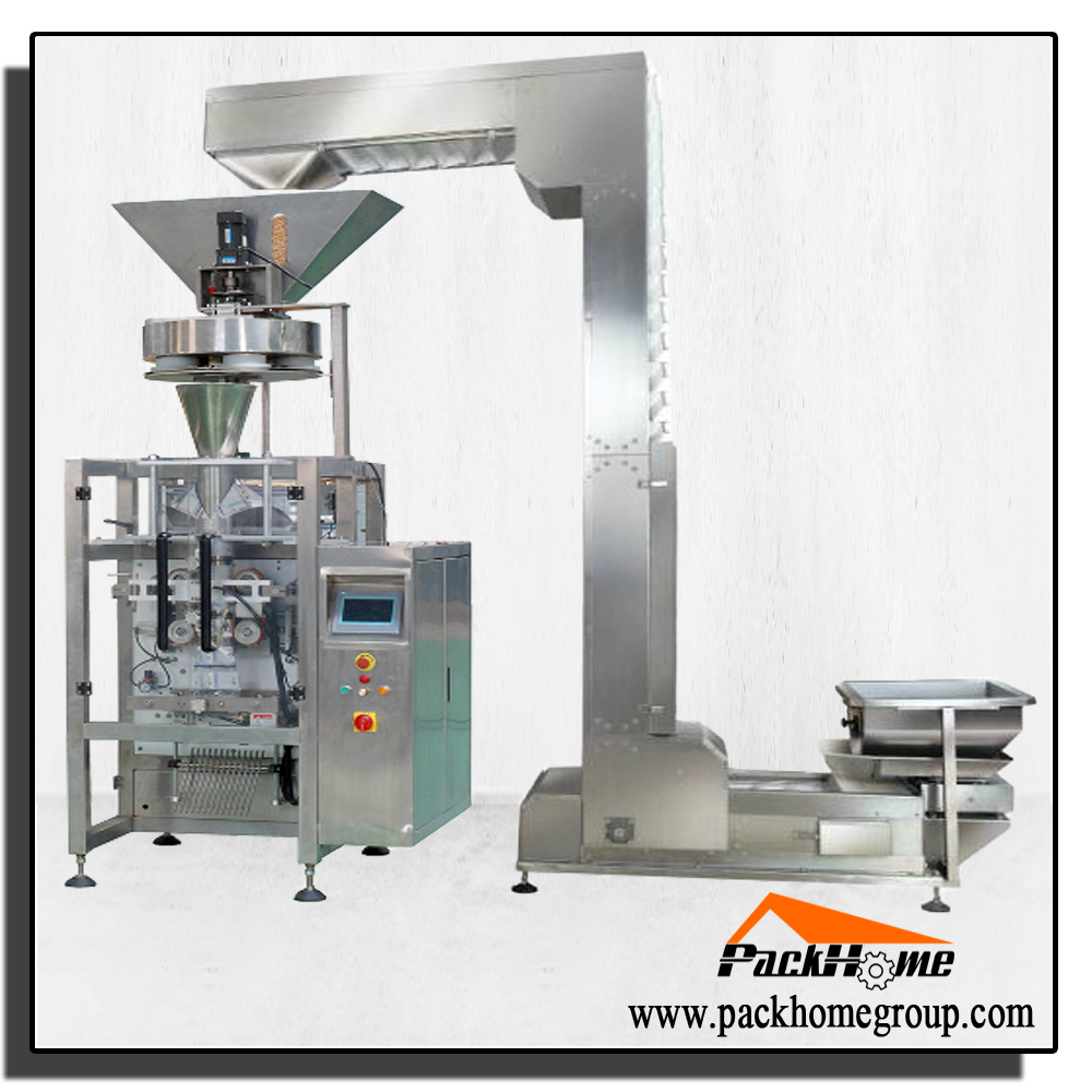 Automatic Vertical Grain Bag Packing machine picture