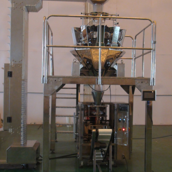 Automatic sachet packing line real picture